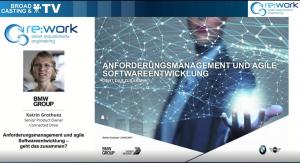 Fallstudie Fallstudie: Anforderungsmanagement und agile Softwareentwicklung | BMW